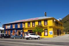 Kurow, Nuova Zelanda Fotografie Stock Libere da Diritti