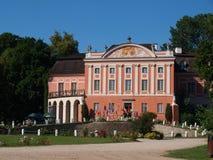 Kurozweki palace, Poland Stock Images
