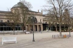 Kurpark à Wiesbaden Images stock