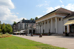 Kurpark in Baden-Baden, Germany Royalty Free Stock Photos