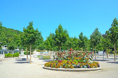 Kurpark in Baden bei Wien, Austria. Royalty Free Stock Photos