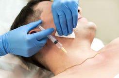 Kurs av den mesotherapy kliniken Royaltyfria Bilder