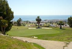 kurs del golf marinatorre royaltyfria bilder