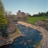 Kurs för vitt vatten, ottawa Royaltyfria Bilder