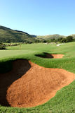 kurs golfa Fotografia Stock
