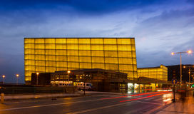 Kursaal Congress Centre and Auditorium. Is the home of the biggest film festival in Spain Royalty Free Stock Photos