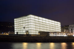 Kursaal Congress Centre and Auditorium Royalty Free Stock Image
