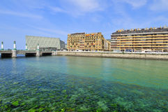 The Kursaal Congress Palace at San Sebastian Royalty Free Stock Image