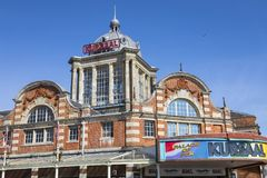 The Kursaal in Southend-on-Sea. SOUTHEND-ON-SEA, ESSEX - APRIL 5TH 2018: A view of the historic Kursaal located in Southend-on-Sea in Essex, UK, on 5th April Royalty Free Stock Image