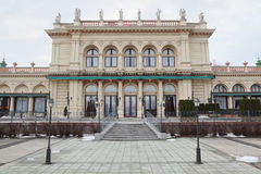 Kursalon with statue on roof in Vienna Royalty Free Stock Photography