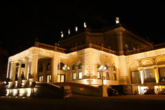 Kursalon in Vienna - Austria - at night Royalty Free Stock Photos