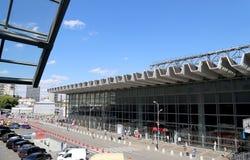 Kursky kolejowy terminal jest jeden dziewięć kolejowych terminali w Moskwa, Rosja (także znać jako Moskwa Kurskaya kolej) Fotografia Royalty Free