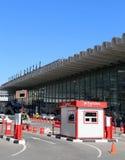 Kursky kolejowy terminal jest jeden dziewięć kolejowych terminali wewnątrz w Moskwa, Rosja (także znać jako Moskwa Kurskaya kolej Fotografia Royalty Free
