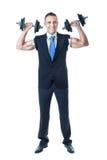 Kursleiter des persönlichen Geschäfts stockfoto