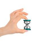 kursor zegarowa komputerowa ręka Zdjęcie Royalty Free