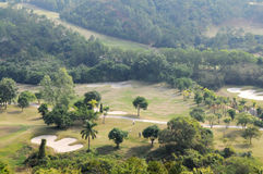 kursowa golfowa góra Fotografia Stock