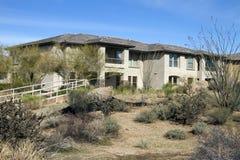 kursowego pustyni golfa domu luksusowy nowożytny nowy Zdjęcie Royalty Free