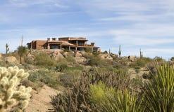 kursowego pustyni golfa domu luksusowy nowożytny nowy Obraz Stock