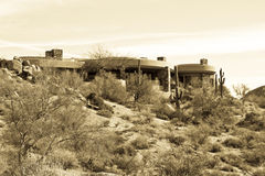 kursowego pustyni golfa domu luksusowy nowożytny nowy Zdjęcie Stock