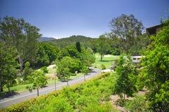 kursowej nieruchomości forrest golf Fotografia Stock