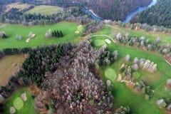kursowy golf Zdjęcie Stock