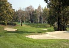 kursowy golf Fotografia Royalty Free