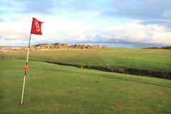 kursowy golf lofoten s obrazy royalty free