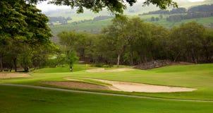 kursowy golfowy kihei Maui Obraz Stock