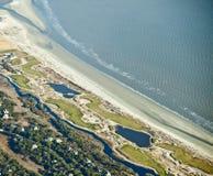 kursowy golfowy ocean Obrazy Stock