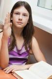 kursschoolgirl Arkivbilder