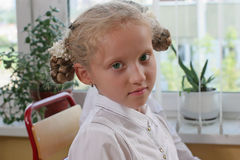 kursschoolgirl Royaltyfria Bilder