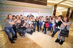 ?Kursteilnehmer des Jahres der Stadt von Moskau? Stockfoto