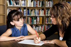 Kursteilnehmer-Lehrer-Verhältnis lizenzfreies stockfoto
