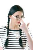 Kursteilnehmer mit Gläsern Lizenzfreies Stockbild