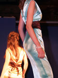 Kursteilnehmer-Modeschau Lizenzfreies Stockfoto