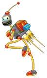 Kursteilnehmer-Roboter Stockbild