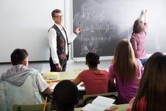 Kursteilnehmer und Lehrer in der Kategorie Stockfotos