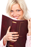 Kursteilnehmerfrau Lizenzfreie Stockfotografie
