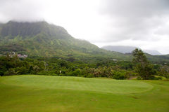 kursu piękny golf fotografia royalty free