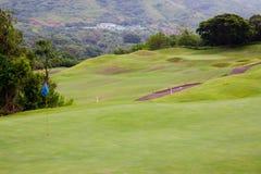 kursu piękny golf Zdjęcie Royalty Free