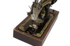 Kursuje mechanizm stara szwalna maszyna, ścinek ścieżka Zdjęcie Royalty Free