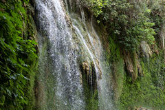 Kursunlu Waterfall Nature Park near Antalya. Royalty Free Stock Photo
