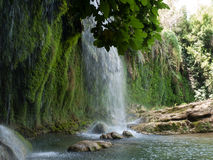 Kursunlu Waterfall Nature Park near Antalya Stock Image