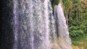 Kursunlu waterfalls in Antalya Turkey stock video footage