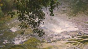 Kursunlu waterfalls in Antalya Turkey stock footage