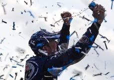 Kurt Busch Sprint Cup Series Kobalt Tools 500 Royalty Free Stock Image