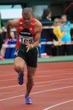 Kurt Couto - obstáculos de 400 m Imagens de Stock