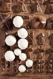 Kurt kurut - asian dried yogurt balls Stock Photos