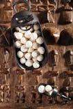 Kurt kurut - asian dried yogurt balls Royalty Free Stock Photography