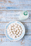 Kurt kurut - asian dried yogurt balls Royalty Free Stock Image